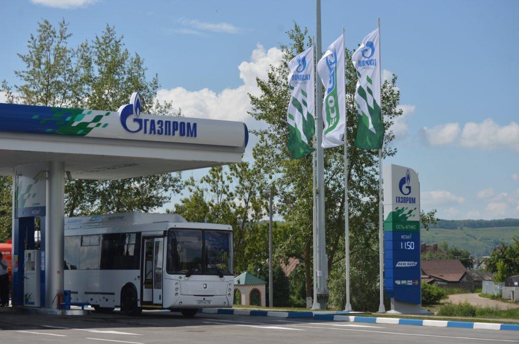 Новая АГНКС в г. Зеленодольске