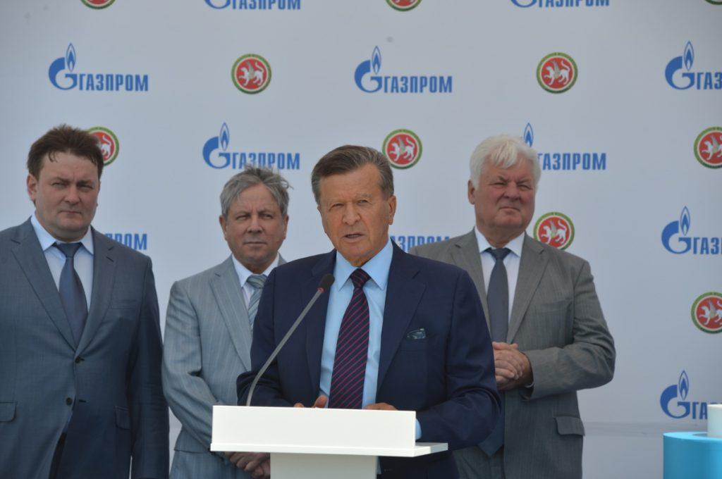 Виктор Зубков выступает на церемонии открытия
