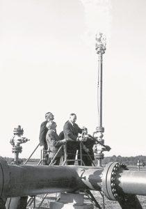 Первый газ в Баумгартене. Фото: OMV AG