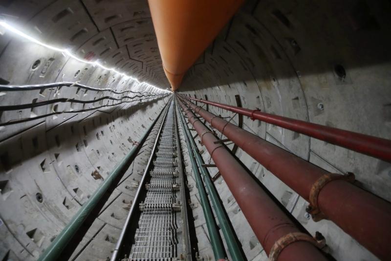 Второй тоннель через реку Амур