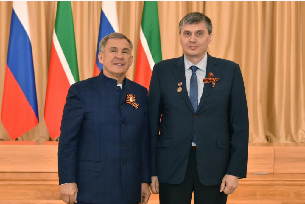 Ерохондин с Президентом