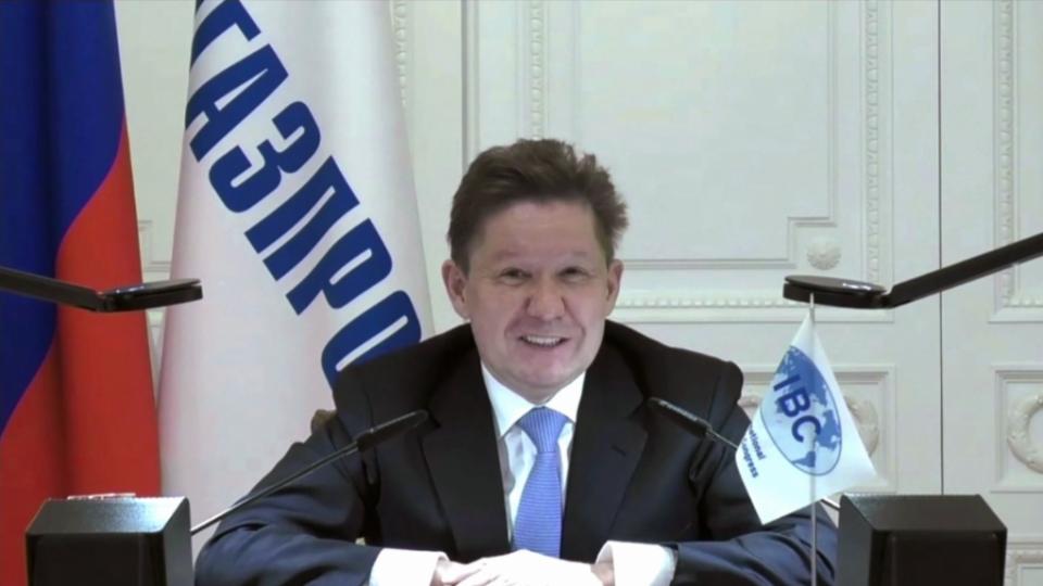 Миллер во время видеоконференции